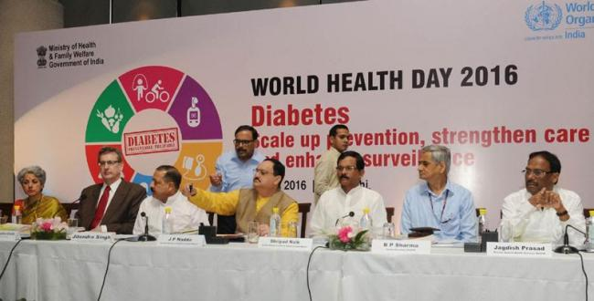 Union health minister launches new e-health and m-health initiatives