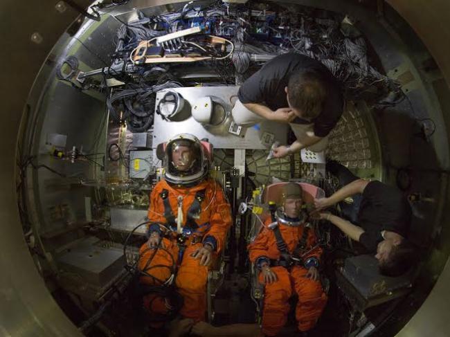 NASA crash-test dummies suit up for action