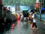 Heavy downpour lashes Kolkata, impede Navami celebrations
