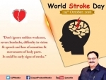 World Stroke Day: Union Health Minister urges citizens to circulate right information