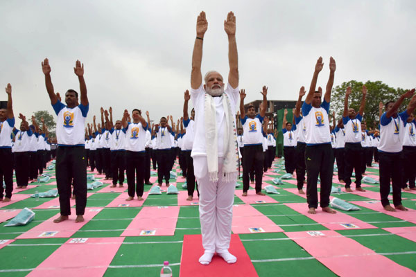 It was a beautiful sight yesterday: PM Modi on Yoga Day celebrations