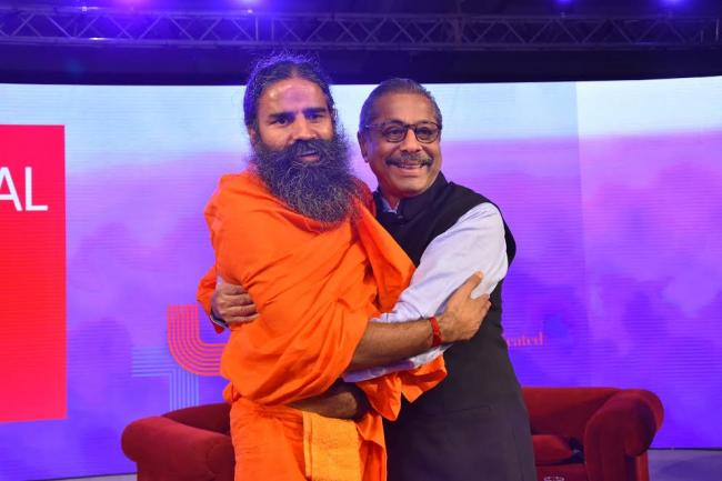 Dr  Trehan, Baba Ramdev announce the fusion of modern and