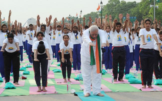 Prime Minister to lead the world in celebrating the Second International Day of Yoga on June 21