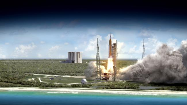 NASA Space launch system's first flight to send small sci-tech satellites into space