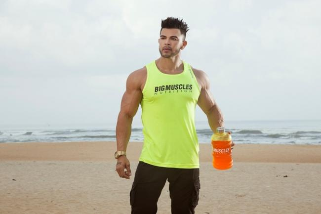 sahil khan to be the face of bigmuscles nutrition