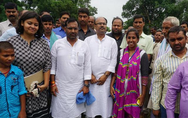 Greenpeace celebrates Bihar's first solar powered cold storage in Kedia
