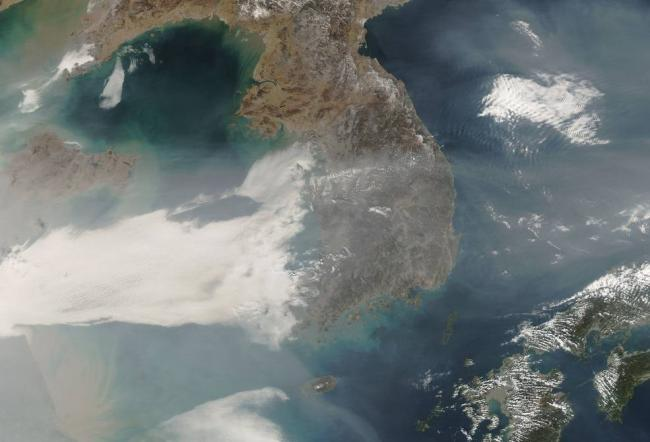NASA partners on air quality study in East Asia