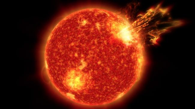 NASA: Solar storms may have been key to life on Earth