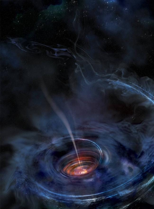 X-ray echoes of a shredded star provide close-up of 'killer' Black Hole
