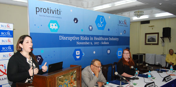 Bengal Chamber and Protiviti guide healthcare personnel how to address disruptive risks in their profession