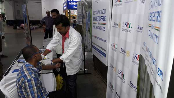 World Diabetes Day observed by Eastern Railways at Sealdah Station