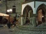 Strong quake rocks Greece and Turkey, kills 2
