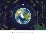 Google celebrates Earth Day with a series of doodles