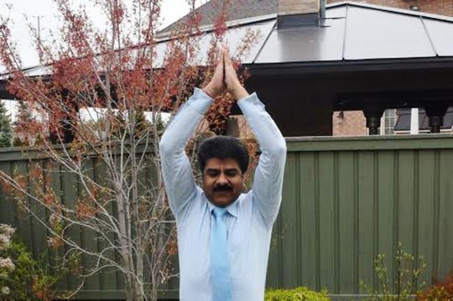 Yoga contributes to human happiness, says Yoga Day Canada chairman