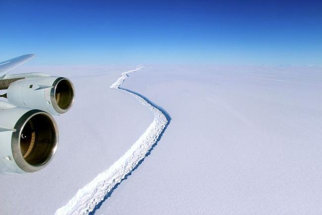 Giant Antarctic iceberg set to break away, say Swansea researchers
