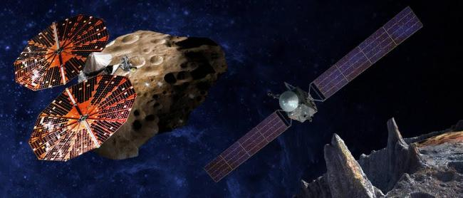 NASA selects two missions to explore the early solar system