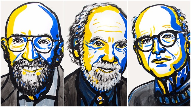Nobel Prize in physics awarded to three Americans for capturing gravity waves