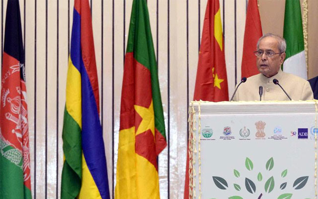 President of India inaugurates 'World Conference on Environment'