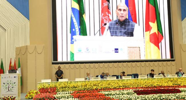 We can't exist without nature: Rajnath Singh