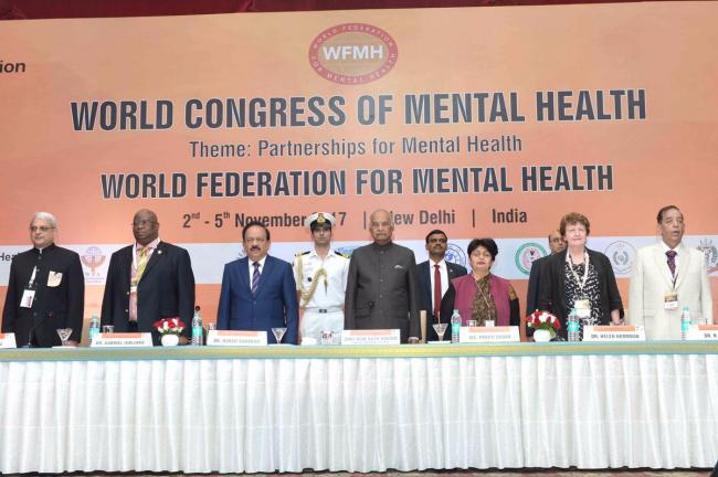 Mental illness needs proper treatment and not swept under the carpet, says President Ram Nath Kovind
