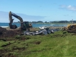 Mass pilot whale stranding at Chatham Island: New Zealand Department of Conservation