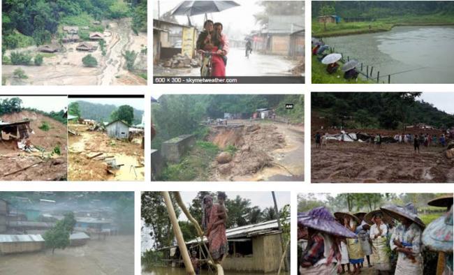 Arunachal flood : Six people die, several houses-vehicles washed away