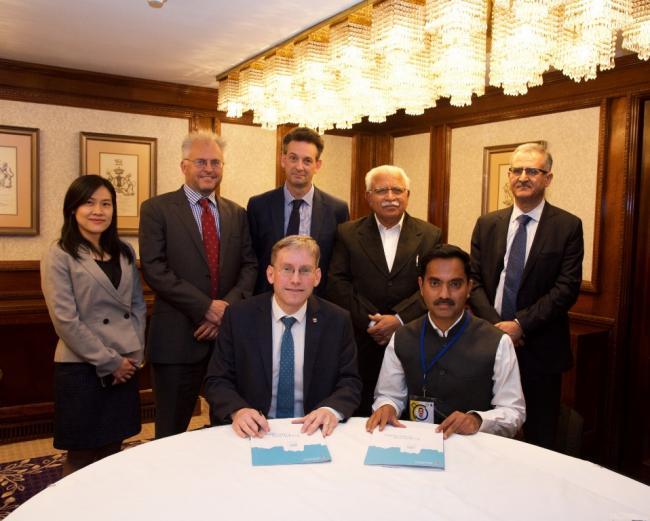 Birmingham and Haryana sign agreement on clean cold for India