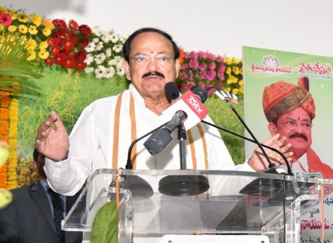 Create awareness on lifestyle diseases: Vice President Naidu