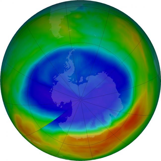 Antarctic Ozone hole is healing, confirms IIT KGP study