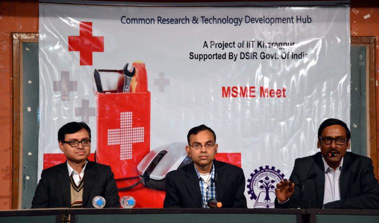 IIT Kharagpur to set-up an MSME Hub for Healthcare Technologies in collaboration with Department of Scientific and Industrial Research