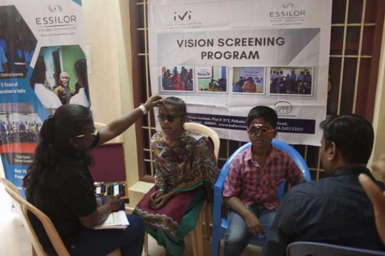Essilor Vision Foundation, ARCOD, India Vision Institute bring cheer to suffering Tamil Nadu children