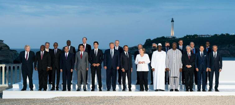 UN chief appeals to G7 leaders for 'strong commitment' and political will to tackle climate emergency