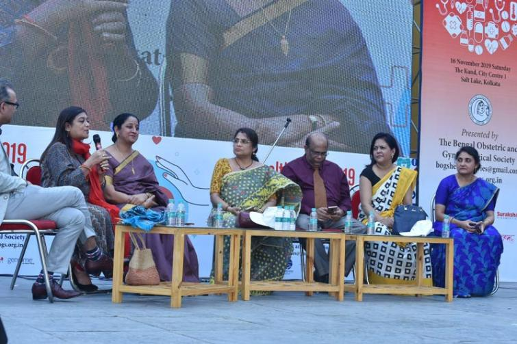 Kolkata: Bengal Obstetrics and Gynaecological Society hosts Health Mela