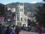 Himachal Pradesh experiences mild to light snowfall
