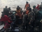 Flood hits Nagaland's Dimapur : Indian army, Assam Rifles personnel rescue stranded villagers