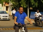 World Bicycle Day: Harsh Vardhan arrives at Ministry on a bicycle to take charge as Indian Health Minister