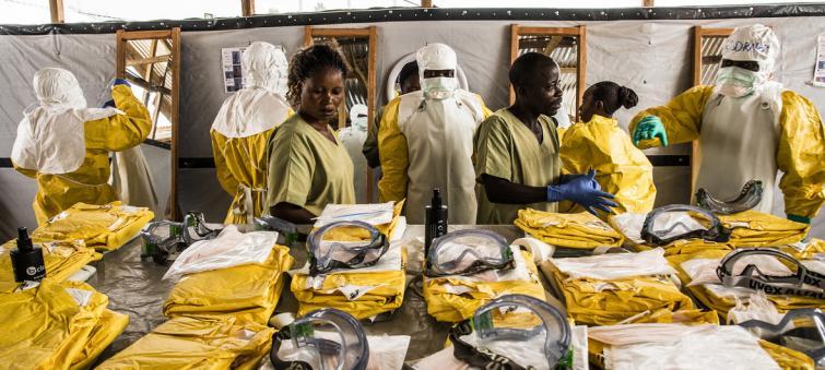 Ebola not an international 'health emergency' but risks spreading across DR Congo border, warns UN health agency
