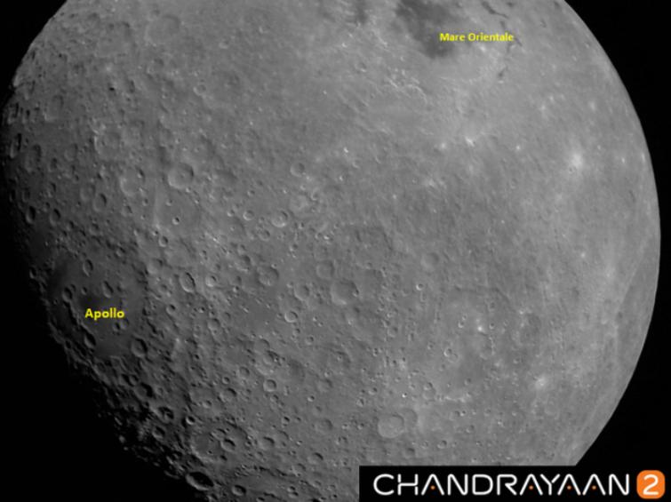 First image of moon by Chandrayaan-2 appears with Apollo craters and Mare Orientale basin