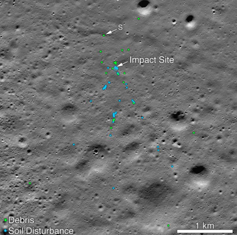 Chandrayaan-2 Moon Lander's debris found: NASA