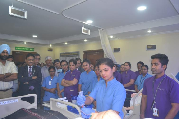 CK Birla Hospitals to train new nurses in a simulation lab to boost their patient handling skills