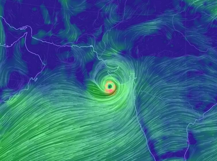 Cyclone Vayu changes course overnight, will not hit Gujarat as expected