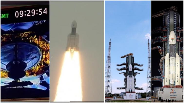 In a perfect lift-off, India's ISRO launches historic Chandrayaan 2  lunar mission