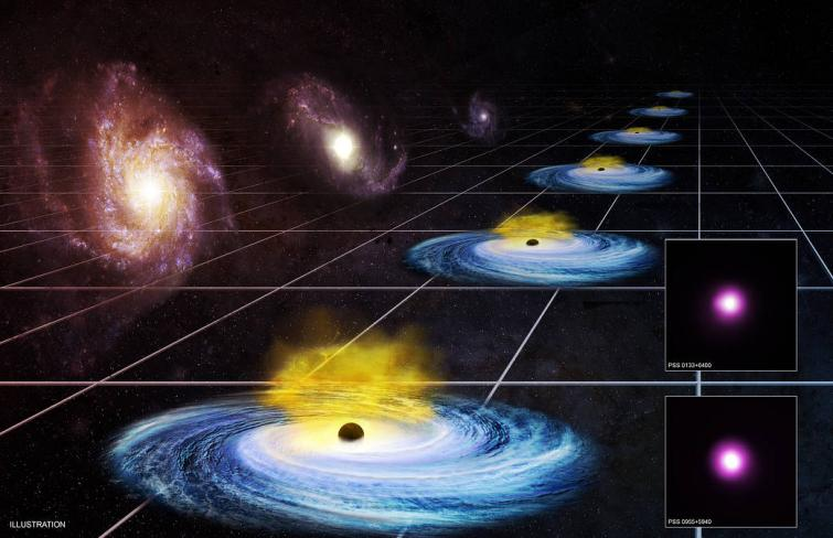 Astronomers find dark energy may vary over time