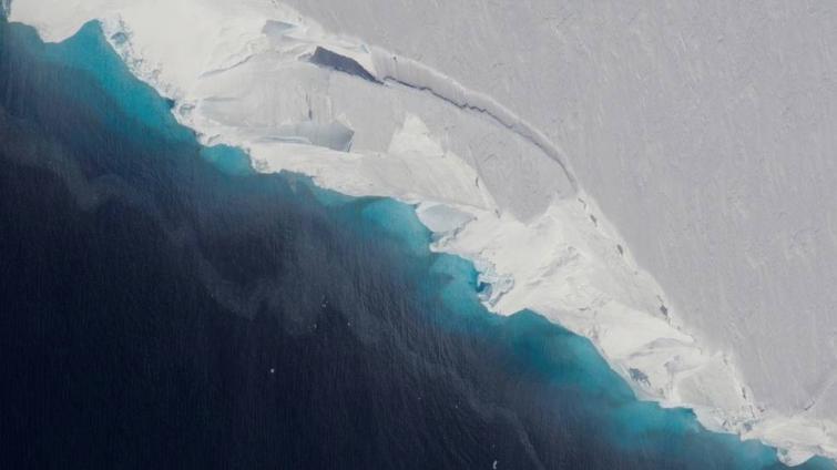 Huge cavity in Antarctic glacier signals rapid decay: NASA