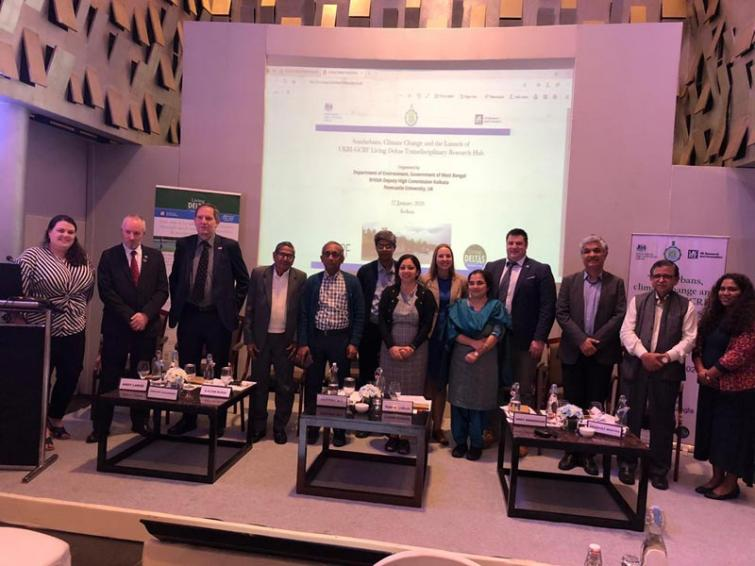West Bengal and the UK join hands to tackle degradation in the Sundarbans delta