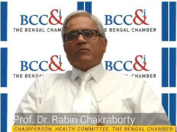 People with heart ailments need to be careful in these times of Covid19 infection says cardiologist Dr Rathin Chakraborty