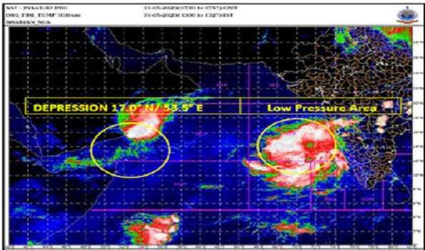 After Amphan, nowIMD warns cyclonic storm may hit Maharashtra, Gujarat by June 3