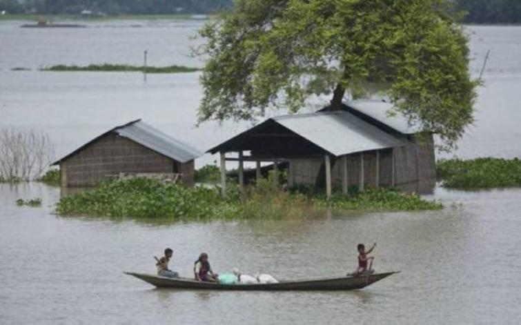 Assam : 30,000 people of four districts hit by fresh flood, death toll rises to 11
