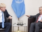UN chief and UK premier announce December climate summit