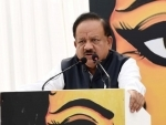 Union Health Minister Harsh Vardhan confirms two new cases of coronavirus in India